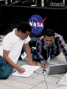 Students competing in the 2012 National Student Solar Spectrograph Competition.