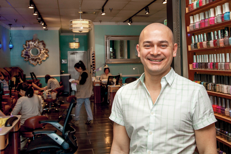 Chanh Tran is the owner of Nails by Timothy in Rockville, Maryland.