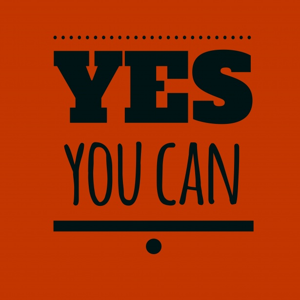 "You Can If You Say, ""I Can"""