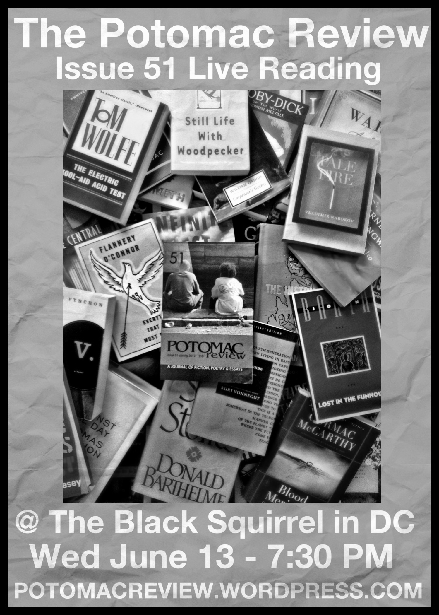 Issue 51 Launch Party – June 13th At The Black Squirrel