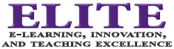 E-learning Innovation and Teaching Excellence ELITE Logo