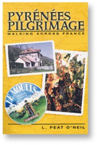 Front cover of the book Pyrenees Pilgrimage.