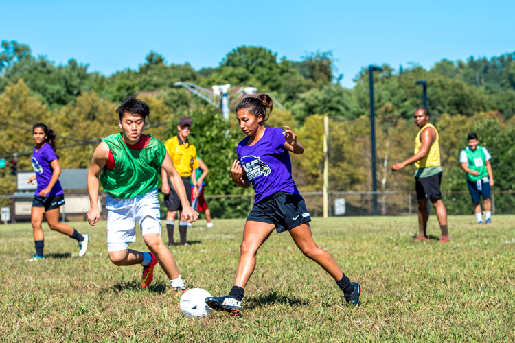 Montgomery College celebrates International Peace Day with its annual pick up soccer tournament.