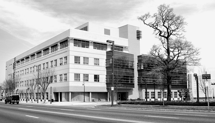 The Health Sciences Center on the Takoma Park/Silver Spring campus.