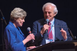 Cokie Roberts And Bob Levey