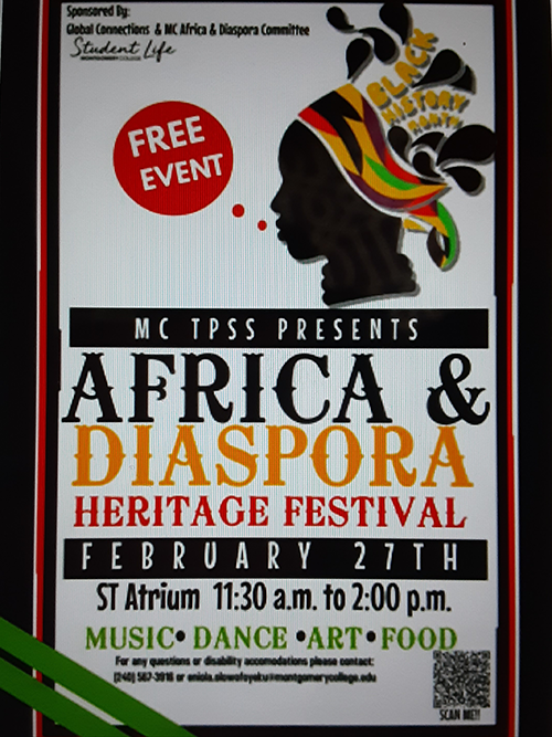 Africa And Diaspora Heritage Festival February 27th